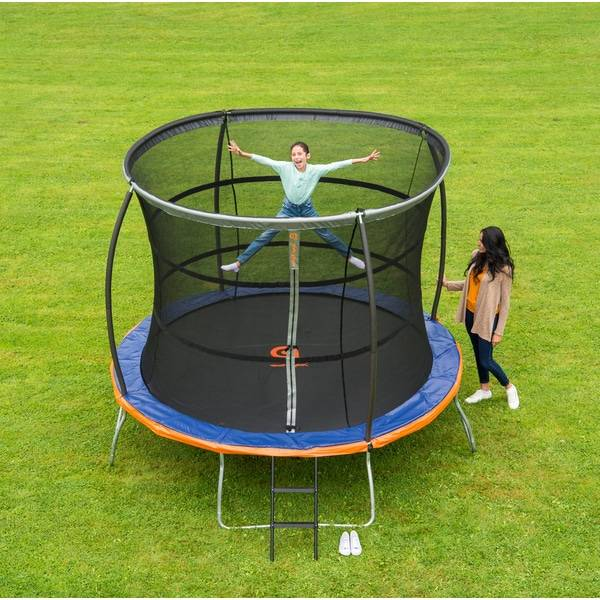 Promo Trampoline with enclosure on sale