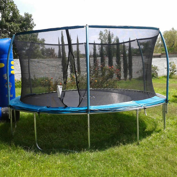 Avis forums Springfree trampoline winter