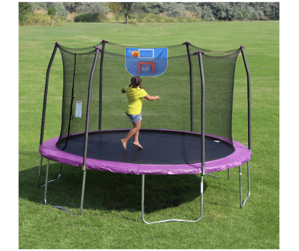 Test Trampolin arebos